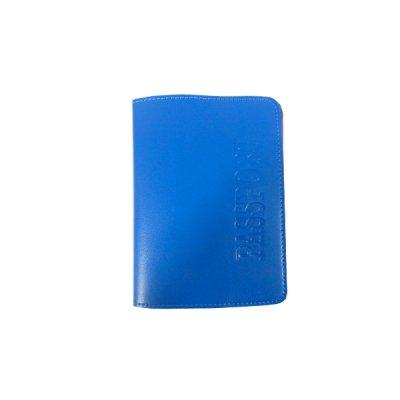 Обложка для паспорта Sarif ОВ-18 голубая