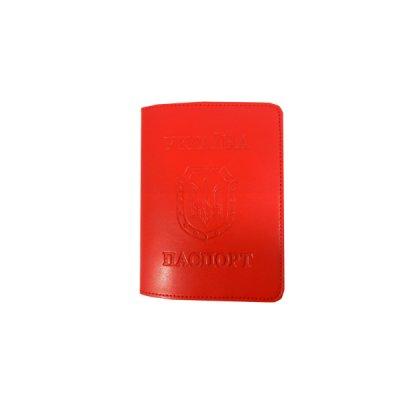 Обложка для паспорта Sarif ОВ-18 красная