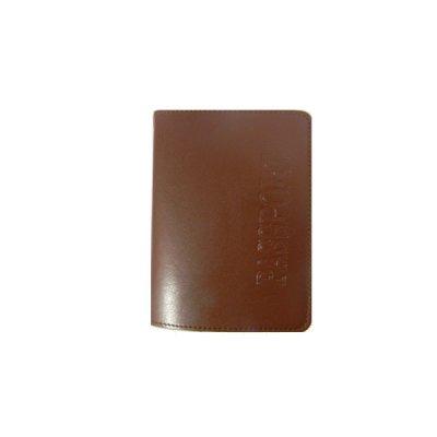 Обложка для паспорта Sarif ОВ-18 коричневая