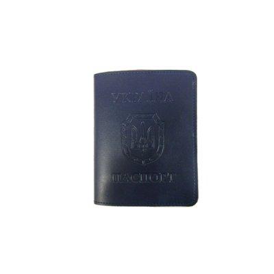 Обложка для паспорта Sarif ОВ-18 синяя