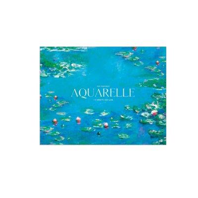 Альбом для акварели А5+ 15 л 300 г/м2 «Ш» Muse 054 с отрывными листами