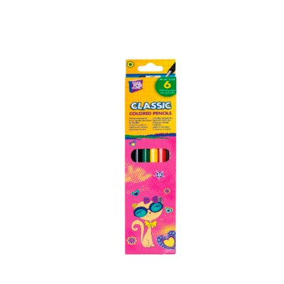 Карандаши цветные CFS CF15150 Kitty 6 цветов **