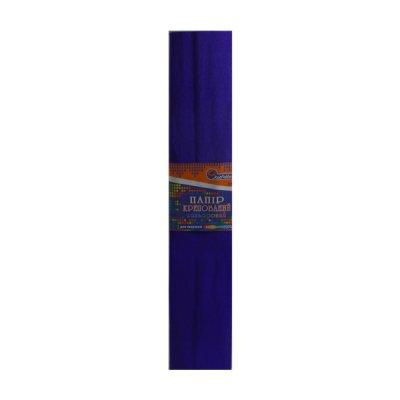 Бумага гофрированная Krepina 100% 8025 темно-фиолетовая
