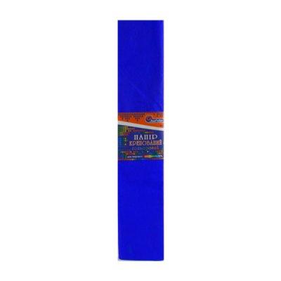 Бумага гофрированная Krepina 100% 8039 темно-синяя