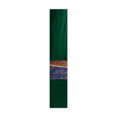 Бумага гофрированная Krepina 100% 8040 темно-зеленая
