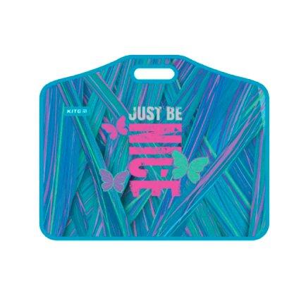 Портфель пластиковый 1отделение А3 Kite K21-208-01 Adorable