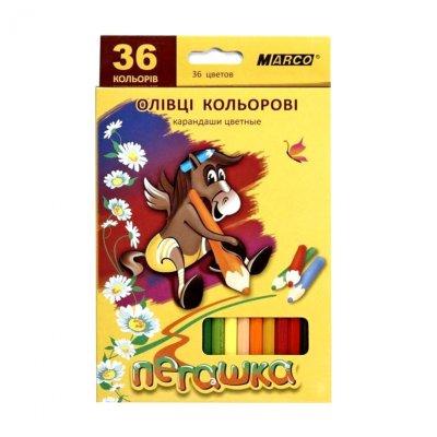 """Карандаши """"Marco"""" 1010 """"Пегашка"""" 36 цветов  **"""
