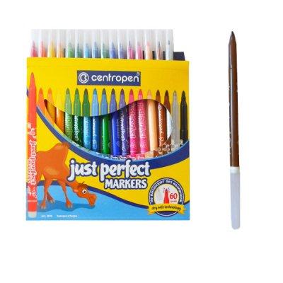 """Фломастеры """"Centropen"""" 2510/18 Perfect 18цветов"""
