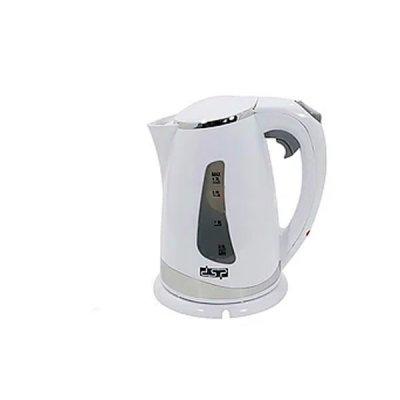 Чайник электрический DSP KK-1110 1,7 литра (нержавейка диск) 2200 Вт белый **