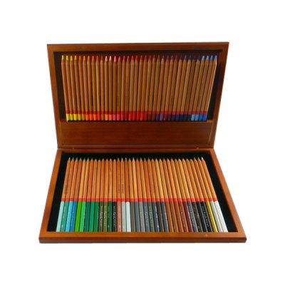 """Карандаши """"Marco"""" 3100 WB FineArt 72 цвета, круглые,кедр в деревянном пенале **"""