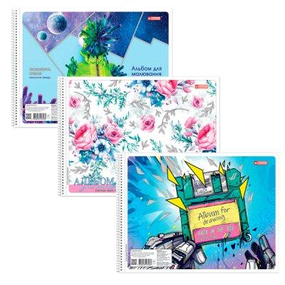 Альбом 30 л 120 г/м Magica САВ-33 с присыпкой, на спирали Mix