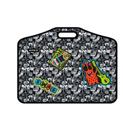Портфель пластиковый 1отделение А3 Kite K21-208-02 Swag