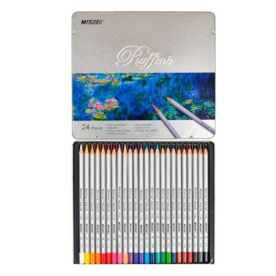 """Карандаши цветные """"Marco"""" 7100 TN в металлической упаковке  24 цвета  **"""