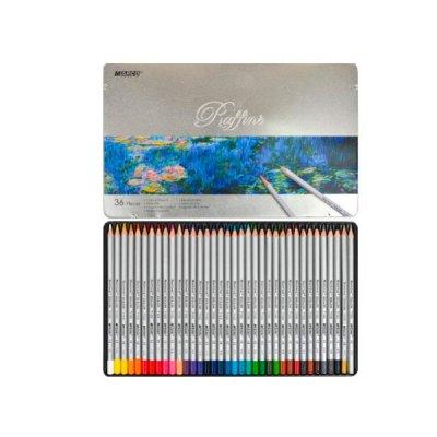 """Карандаши цветные """"Marco"""" 7100 TN металлическая упаковка 36 цвета  **"""