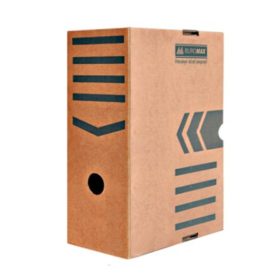 "Коробка архивная картонная А4/ 150 ""BuroMAX"" BM 3262-34 крафт"