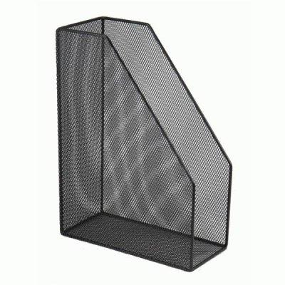 """Лоток вертикальный """"BuroMAX"""" ВМ6260-01 металлический черный"""