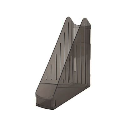 """Лоток вертикальный """"K-I-N"""" 754123 А4 прозрачный черный"""