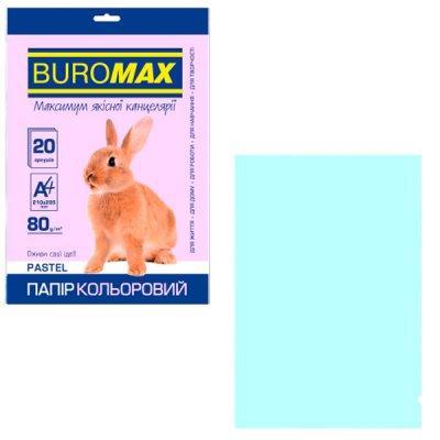 """Бумага """"BuroMAX"""" А4 80г/м2 (20л)"""" BM2721220-14 Pastel гол. **"""