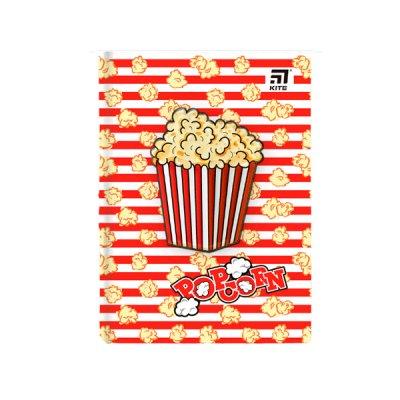 """Блокнот А5 80 л # в клетку """"Kite"""" K20-284-4 """"Popcorn"""" твердая обложка"""