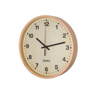 Часы настенные Optima O52081-42 Promo Natural светлое дерево **