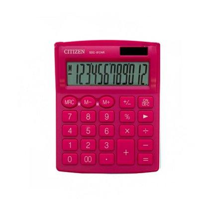 """Калькулятор """"Citizen"""" SDC-812 NRPKE-pink 12р."""