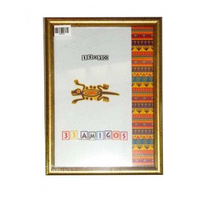 Рамка для фото 15х20 15мм золото