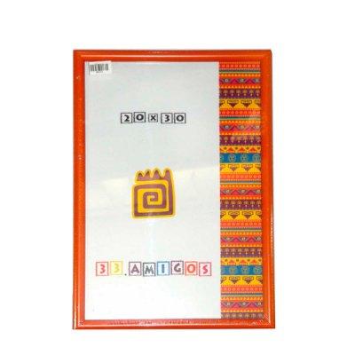 Рамка для фото 20х30 (15 мм) оранжевая