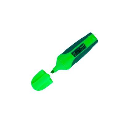 """Маркер """"BuroMAX"""" 8904-04 текстовый, neon, зеленый с резиновыми вставками"""