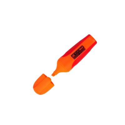 """Маркер """"BuroMAX"""" 8904-11 текстовый, неон оранжевый с резиновыми вставками"""