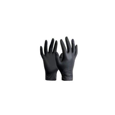 "Перчатки нитриловые ""Nitrylex black""  S (2 шт)  **"