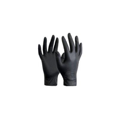 "Перчатки нитриловые ""Nitrylex black""  XS (2 шт)  **"