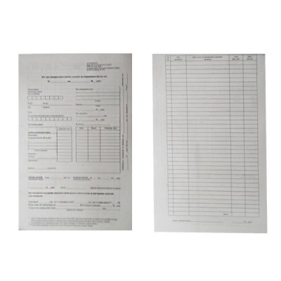 Бланк А5 Kancler «Авансовый отчет» 100л (газ)