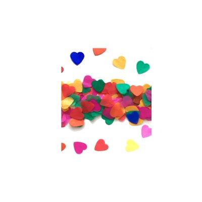 Конфети для шариков сердца 100 г *