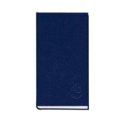 Книга алфавитная А4 /2  176 л в клетку «П» 213 05С баладек, синий