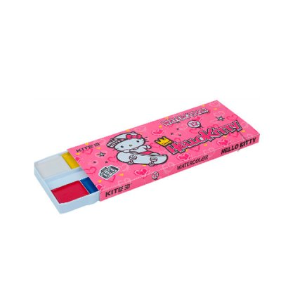 Акварель 12цв Kite HК21-041 Hello Kitty б/к п/у