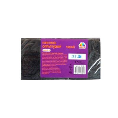 Глина Гамма НВ 401302 Скульптурный 400 г черный