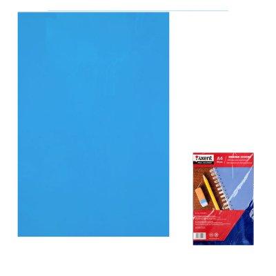 """Обложка для биндера """"Axent"""" А4 50 шт 180 мк 2720-02 прозрачная синяя"""