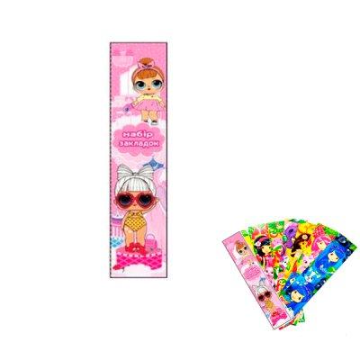 "Закладка для книг ""Кукла"" ZK78 (7шт)"