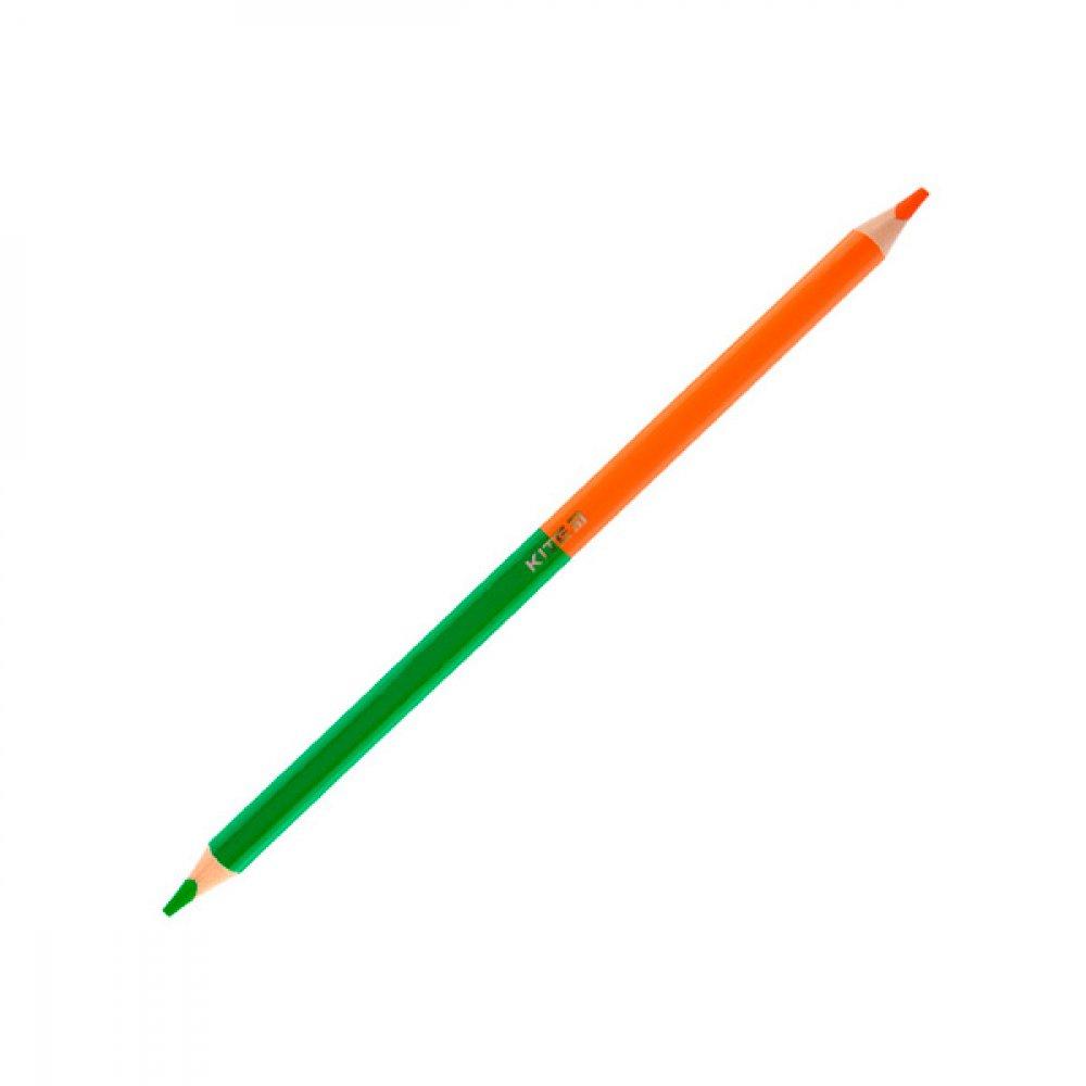 """Карандаши цветные """"Kite"""" K19-054-5 """"Jolliers"""" 12 шт/ 24 цвета двухсторонние"""
