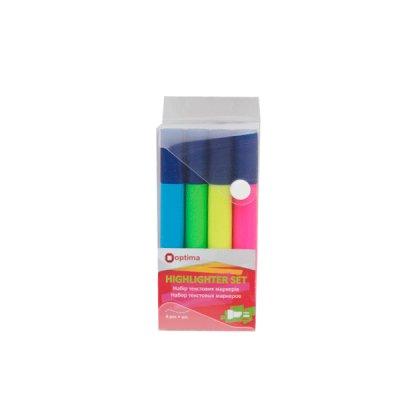 Набор маркеров Optima O15828 Text (4 шт) 1-4,5 мм