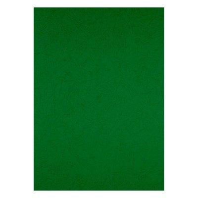 """Обложка для биндера """"Axent"""" А4 50 шт 180 мк 2730-04 кожа зеленая"""