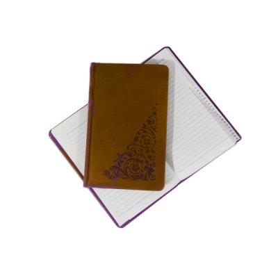 Книга алфавитная А6 в212 06P коричневая