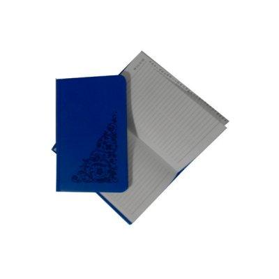 Книга алфавитная А6 в212 06С синяя