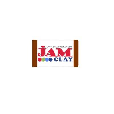 """Глина полимерная """"Jam Clay"""" 18801 20г молочный шоколад"""