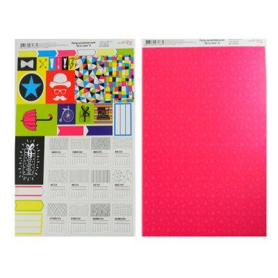 """Бумага для дизайна """"Rosa Talent"""" А4 250 г/м2 5310056 """"Be in color-8"""""""