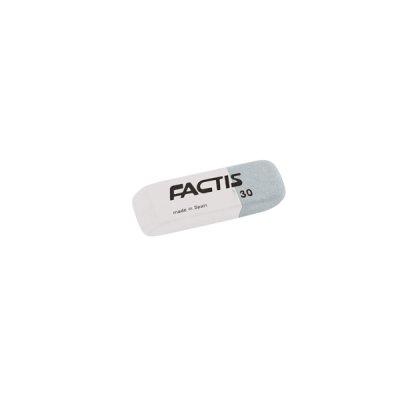 """Ластик """"Factis"""" 30 IM прямоугольный бело-серый"""