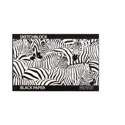 Альбом для эскизов А5 120 г/м2 BL5930 (30 л) черный