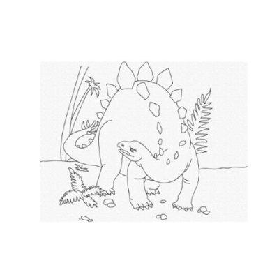 Набор картина по контуру 25 х 30 Динозавр 15521-АС **