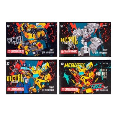 Альбом 24л 120 г/м2 Kite TF21-242 Transformers лак