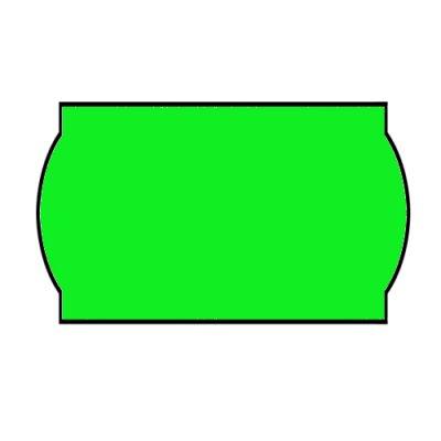 Ценник фигурн. 26х12 (рул.3м) зел.